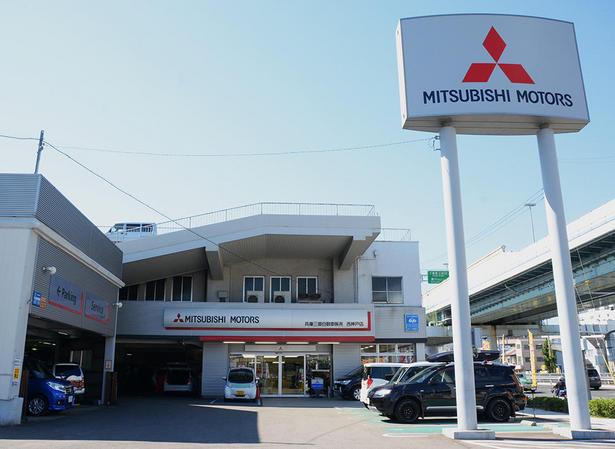 手動運転装置付レンタカーを兵庫三菱自動車販売 西神戸店にお届け